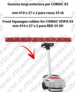 VISPA XS Squeegee Rubber front for scrubber dryers COMAC