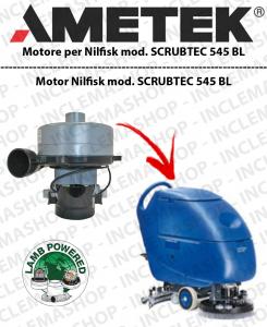 SCRUBTEC 545 BL motor de aspiración LAMB AMETEK para fregadora NILFISK ALTO