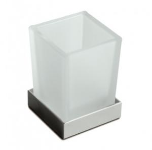 Bicchiere da appoggio per il bagno serie Cuir 3SC