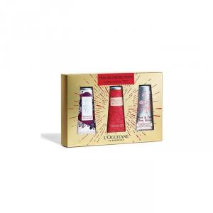 Loccitane Hand Cream Set 3 Pieces 2018