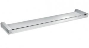 Mensola in cristallo per il bagno serie Cuir 3SC