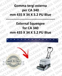 Squeegee rubber esterna for NILFISK CA 340