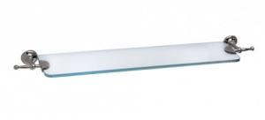 Mensola in cristallo per il bagno serie Pastelli 3SC