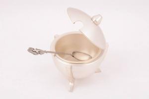 Turibolo in metallo argentato con navicella ELLECI367A