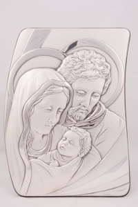Icona Sacra Famiglia in argento LALC680SF