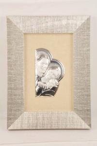 Quadro Sacra Famiglia in argento FAN6582-15SF