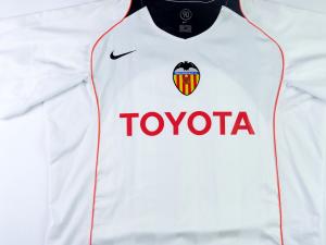 2004-05 Valencia Maglia Home XL (Top)