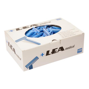 Lea Medical Blades With Comb 100 Units