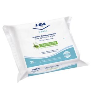 Lea Women Cleansing Wipes Aloe vera 25 Units