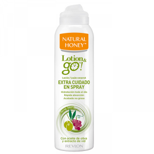 Natural Honey Lotion And Go Extra Care Spray 200ml