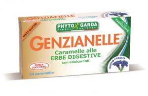CARAMELLE DIGESTIVE GENZIANELLE SENZA ZUCCHERO GUSTO FRESCO