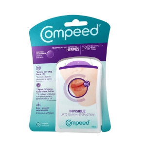 COMPEED HERPES INVISIBLE 15 CEROTTI