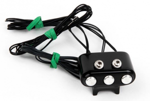 3-Button Switch Block Black