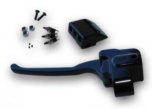 Black Handlebar Clutch Perch 84-06 + Schalte