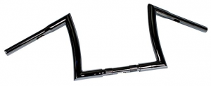 Handlebar Bad Ape hanger 10 Diameter 32mm, 25,4mm (1) Center Diameter,Black, Width 800 Pullback 150 Height 220 mm