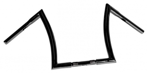 Handlebar Bad Ape hanger 14 Diameter 32mm, 25,4mm (1) Center Diameter,Black, Width 800 Pullback 150 Height 320 mm