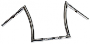 Handlebar Bad Ape hanger 16 Diameter 32mm, 25,4mm (1) Center Diameter,Chrome, Width 800 Pullback 150 Height 360 mm