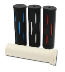 Kijima Color Rubber Grip Black/Red