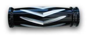 RBS Black Milled V-Style Grips