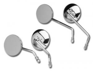 4 Round Mirror, Short Stem Left Side