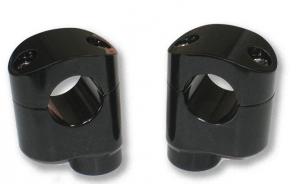 2.25 Offset Riser Black