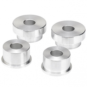 39mm Solid Riser Bushings, Raw Aluminum