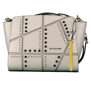 Shoulder bag Cromia PERLA ROCK 1403615 PLATINO