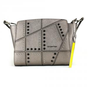 Shoulder bag Cromia PERLA ROCK 1403615 ACCIAIO