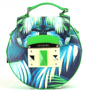 Hand and shoulder bag Cromia IT TROPIC 1403664 VERDE