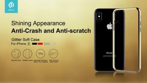 Cover Glimmer soft per iPhone X
