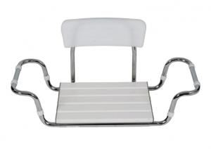 Sedile in plastica con schienale