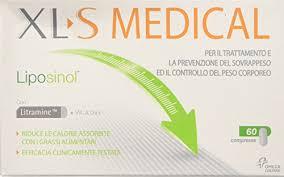 XL-S MEDICALE LIPOSINOL 60 CPS