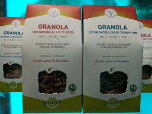 PRANA GRANOLA CON GERMOGLI E FRUTTI ROSSI 250 G