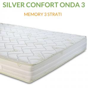 Materasso Memory Multionda Dispositivo Medico H21 | Silver Confort Onda 3 |Prezzi a partire da