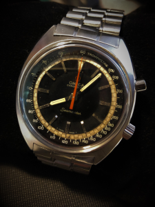 Orologio secondo polso Omega Seamaster Chronostop Vintage