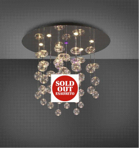 RAIN lampadario da soffitto GU10|LED