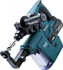 Makita DHR243RTJV - Trapano combinato a batteria per für SDS Plus, 18 V / 5,0 Ah