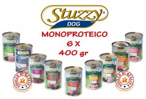 Stuzzy Monoproteico Mangime Umido Cane Adulto 400 gr - confezione da 6