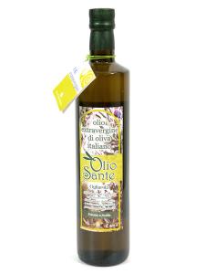 Olio extravergine di oliva Pugliese cultivar Ogliarola Sante Bottiglia da 0,75 Lt - Terre di Ostuni