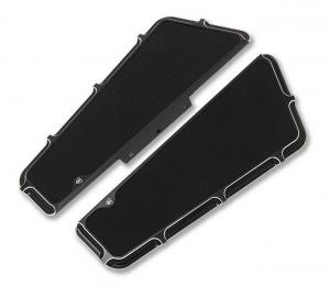 Arlen Ness Beveled Fusion Passenger Floorboard,Black