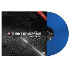 TRAKTOR CONTROL VINYL BLUE TVBL
