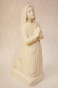 Statua Santa Bernadette in polvere di marmo DEC165-50