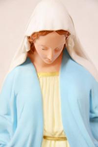 Statua Madonna Miracolosa in gesso h. 50