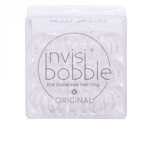 Invisibobble Hair Ring Crystal Clear 3 Parti