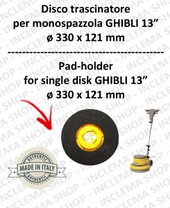 DISCO TRASCINATORE for single disc GHIBLI 13