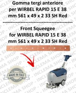 RAPID 15 ünd 38 Vorne sauglippen für scheuersaugmaschinen WIRBEL