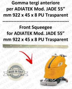 JADE 55 Vorne sauglippen für scheuersaugmaschinen ADIATEK