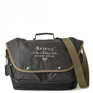 Avirex - Alifax - Borsa a tracolla da viaggio 1 scomparto verde scuro cod. A4