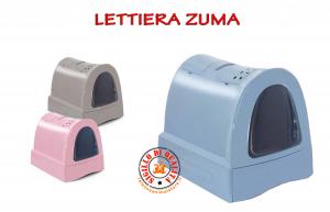 Toilette per Gatti Imac Zuma Azzurro, Rosa, Tortora Misura:40 cm56 cm42,5 cm
