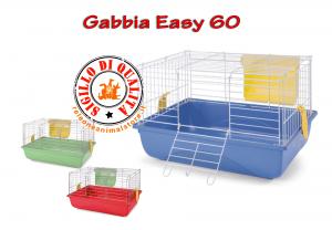 Gabbia per Conigli e Porcellini d'india EASY 60 Imac